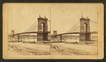 View of the Cincinnati and Covington suspension bridge, by C. H. Muhrman.png
