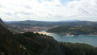 Astondo - Views from the lighthouse of Gorliz