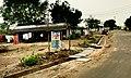 Vijayawada-Amaravathi road in Borupalem 1.jpg