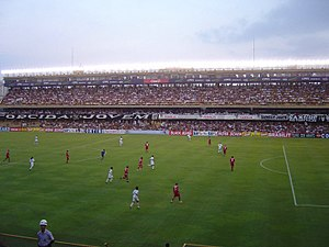 1949 South American Championship - Image: Vila Belmiro Santos FC