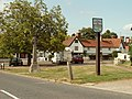 Village sign at Hunsdon, Herts. - geograph.org.uk - 216899.jpg