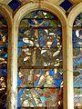 Villers-sous-Saint-Leu (60), église Saint-Denis, verrière de l'arbre de Jessé 4.JPG