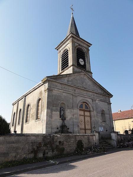 Villers-sur-Meuse (Meuse) église