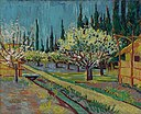 Vincent van Gogh - Orchard Bordered by Cypresse - ILE2017.12.1 - Yale University Art Gallery.jpg