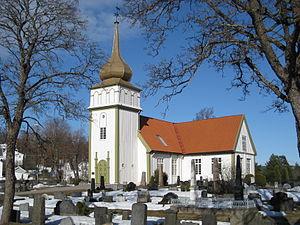 Vinger - Vinger Church in Hedmark