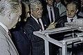 Visite de Mr Curien au SIA 1991-18-cliche Jean Weber.jpg