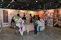 Visitors Watching Manga Gallery in 2015FFTC 20150801.jpg