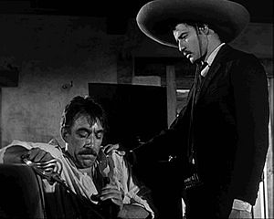 Anthony Quinn - as Eufemio Zapata with Marlon Brando's Emiliano Zapata in Viva Zapata! (1952)