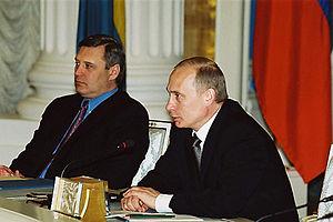 THE KREMLIN, MOSCOW. President Vladimir Putin ...