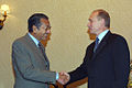 Vladimir Putin at APEC Summit in China 19-21 October 2001-10.jpg