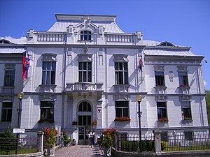 Vrútky - Town hall of Vrútky
