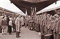 Vrnitev prve Mariborske brigade Alfonza Šarhav v Maribor 1960.jpg