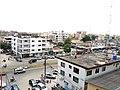 Vue panoramique de Cotonou avenue Steimeiz cotonou Benin.jpg