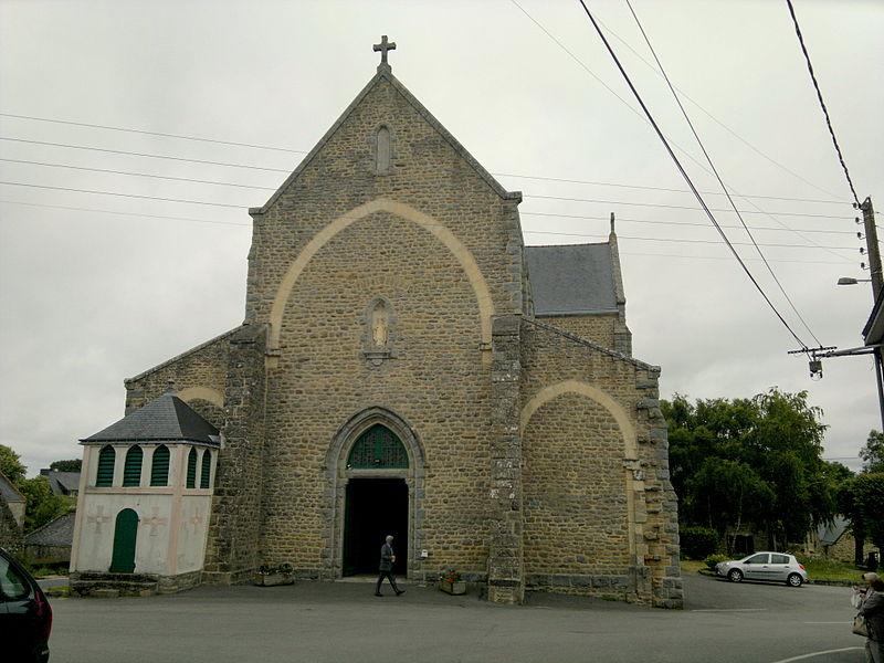 Église Saint-Saturnin, Fr-56-Belz.