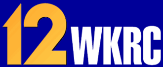 "WKRC-TV - ""12 WKRC"" logo, used from 1994 to 2004 with the slogan ""A New Generation of News""."
