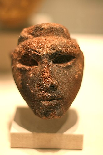 Art of ancient Egypt - Queen Tiye (?), ca. 1352-1336 B.C.E. Sandstone. Brooklyn Museum, Charles Edwin Wilbour Fund, 33.55