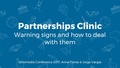WMCON17 Session 20- Partnerships Clinic.pdf