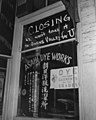 WWII - Shop just before Japanese were evacuated from Little Tokyo, Los Angeles, California, by Clem Albers, April 1942.jpg