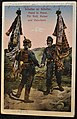 WWI postcards two German soldiers.JPG