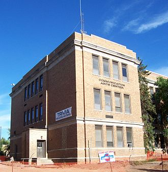 University of Wisconsin–Stevens Point - The Communication Arts building, the headquarters for the WWSP-FM trivia contest