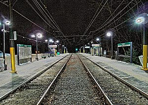 Waban station at night - HDR.jpg