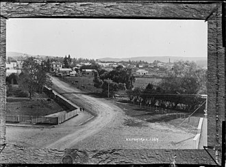 Waipukurau - Township about 1910