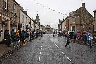 Waiting for the parade, Coldstream Festival - geograph.org.uk - 976296.jpg