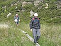 Walking the plank at Bentyfield Mine - geograph.org.uk - 1605574.jpg