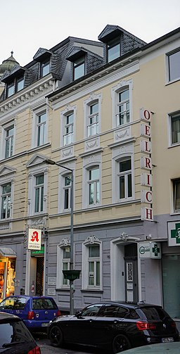 Wallstraße in Duisburg