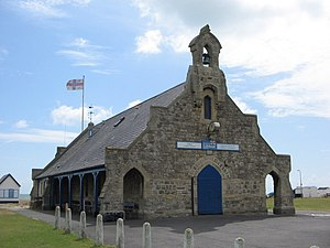 Walmer Lifeboat Station - Walmer Lifeboat Station on The Strand, Walmer. Built in 1871