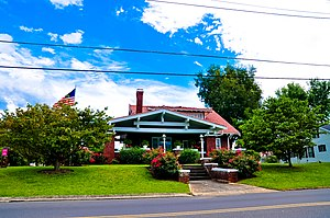 National Register of Historic Places listings in Cocke County, Tennessee - Image: Walter C. Cureton House
