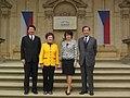 Wang, Lu, Syková a Chen na Forum 2000 2016.jpg