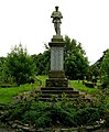 War Memorial at Tong Cemetery - geograph.org.uk - 492310.jpg