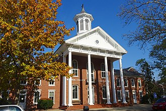 Belvidere, New Jersey - Warren County Courthouse