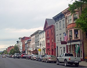 Warren Street in Hudson