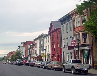 Hudson, New York - Warren Street in Hudson