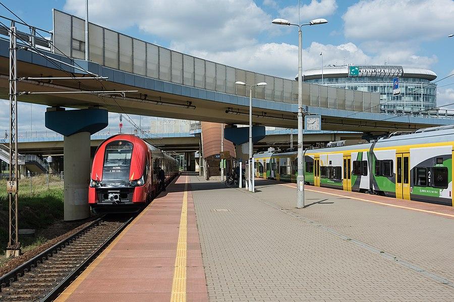 Warszawa Służewiec railway station