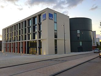 Warwick Business School - WBS Latest Extension Building in 2015