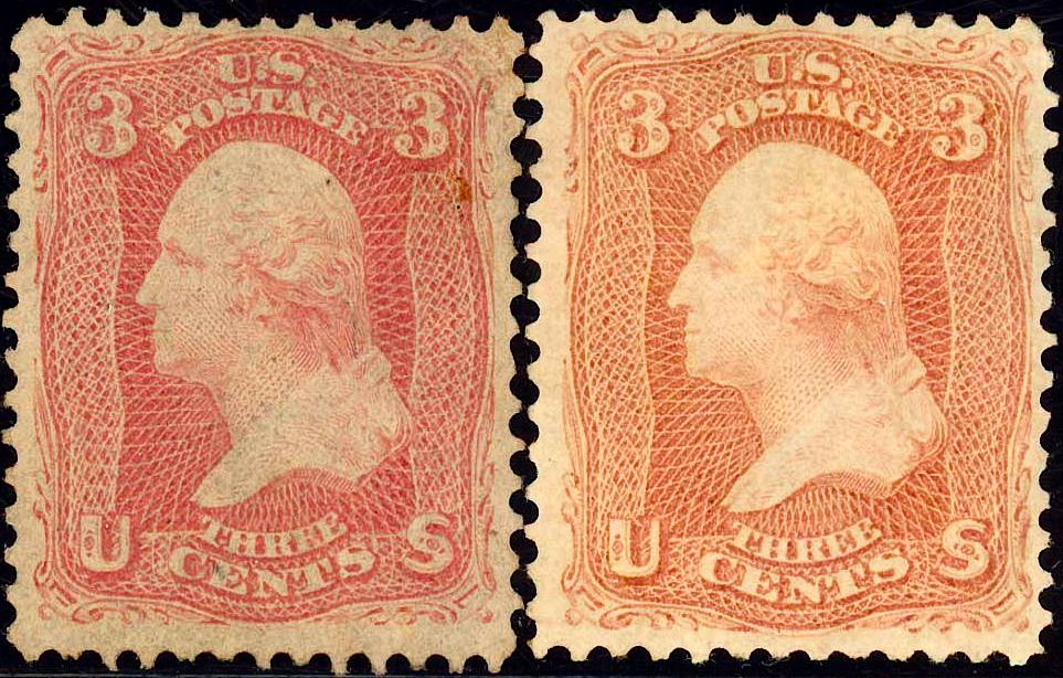 Washington Pair22 1861 Issue-3c