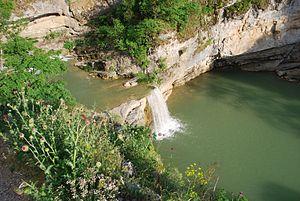 Miruša-Wasserfälle im Westen des Landes