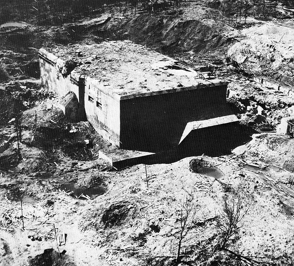 Watten bunker exterior 1945