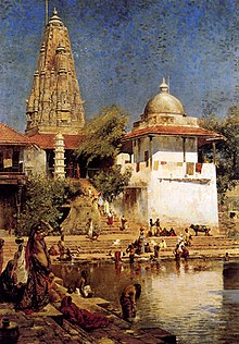 Weeks Edwin The Temple And Tank Of Walkeshwar At Bombay.jpg