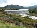 Weir on Loch Bad an Sgalaig . - geograph.org.uk - 249429.jpg