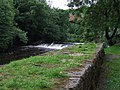 Weir on the River Kelvin - geograph.org.uk - 888179.jpg