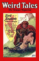 Weird Tales cover image for August 1928