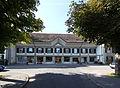 Weissensteingut Bern, Frontseite (Eisenbahnersiedlung).JPG