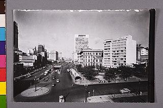 Vista parcial da Cidade. São Paulo/Sp