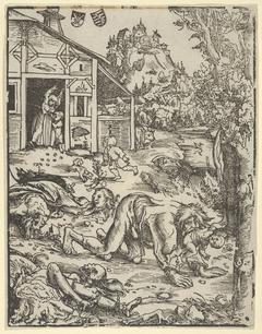 Nemecká drevorezba, 1512
