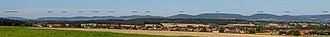 Wesergebirge - Image: Weserbergland Panorama