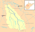 West Fork Little Kanawha River map.png